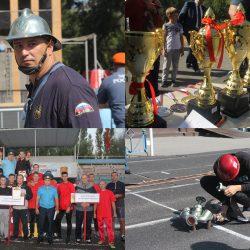 В Липецке состоялись областные соревнования  по пожаpно-спасательному спорту