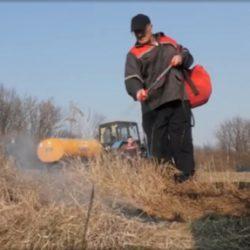 Добровольные пожарные на страже безопасности Елецкого района (видеосюжет Первого канала)