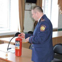 Реализация проекта Фонда президентских грантов «Добровольная пожарная охрана 2019»