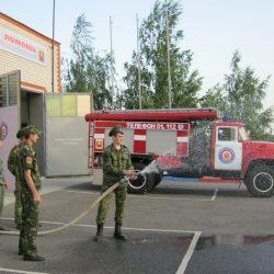 Подведены итоги районных смотров-конкурсов на «Лучшее подразделение добровольной пожарной охраны»
