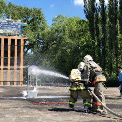 Лучшую добровольную пожарную команду Липецкой области определили 29 мая на стадионе «Динамо» в Липецке