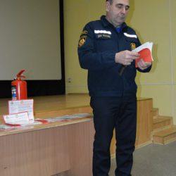 Проведение противопожарных предновогодних инструктажей с директорами МБУКов и отделом культуры Задонского района